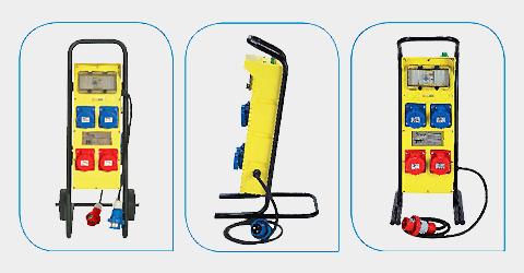 Quadri elettrici ASC portatili con carrello