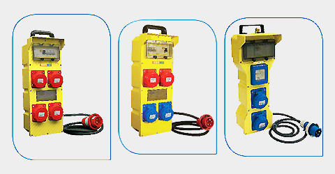 Quadri elettrici ASC portatili